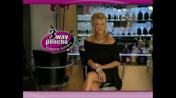 3-Way Poncho TV Spot Featuring Suzanne Somers - Thumbnail 2