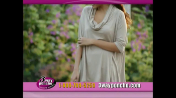 3-Way Poncho TV Spot Featuring Suzanne Somers - Thumbnail 5