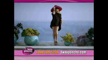 3-Way Poncho TV Spot Featuring Suzanne Somers - Thumbnail 8