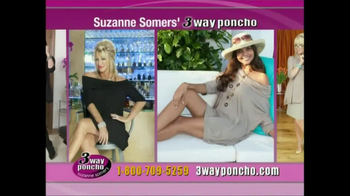 3-Way Poncho TV Spot Featuring Suzanne Somers - Thumbnail 9