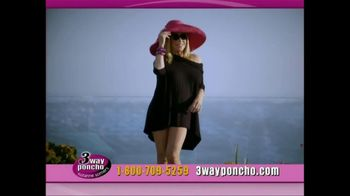 3-Way Poncho TV Spot Featuring Suzanne Somers