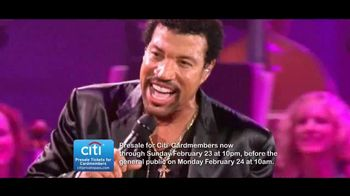 Lionel Richie: All Night Long Tour TV Spot