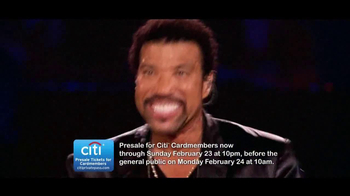 Lionel Richie: All Night Long Tour TV Spot - Thumbnail 8