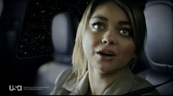Jeep TV Spot, 'USA Network: The Cherokee Effect' Featuring Sarah Hyland - Thumbnail 4