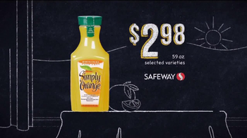 Safeway Deals of the Week TV Spot, 'Oscar Mayer, Simply Orange, Oikos' - Thumbnail 8