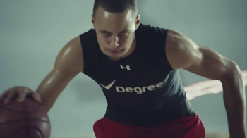Degree Men Adrenaline TV Spot Featuring Stephen Curry