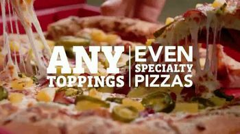 Pizza Hut $10 Any TV Spot, 'Hand Tossed'