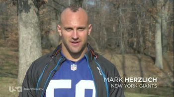 USA Network TV Spot, 'I Wont Stand For' Featuring Mark Herzlich - 2 commercial airings