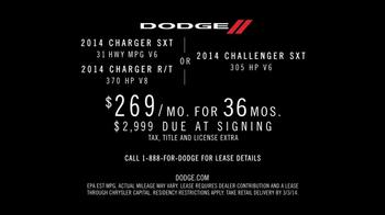 Dodge TV Spot, 'Charger vs. Challenger' - Thumbnail 9