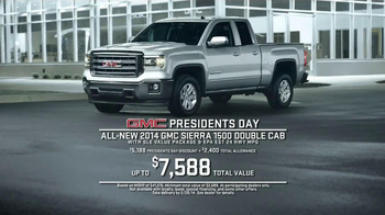 2014 GMC Sierra TV Spot, 'President's Day Sale' - Thumbnail 8