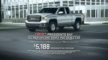 2014 GMC Sierra TV Spot, 'President's Day Sale' - Thumbnail 6