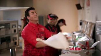 Papa John's Double Cheeseburger Pizza TV Spot [Spanish] - Thumbnail 10