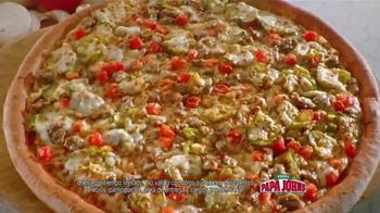 Papa John's Double Cheeseburger Pizza TV Spot [Spanish] - Thumbnail 5