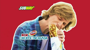 Subway Fritos Chicken Enchilada Melt TV Spot, 'Crunch a Munch' - 1373 commercial airings