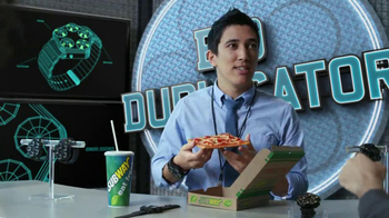 Subway Flatizza TV Spot, 'Bio Duplicator' - Thumbnail 8