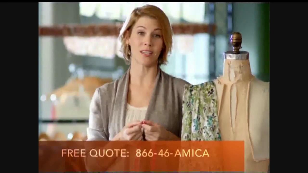 Amica Insurance Quote Pleasing Amica Mutual Insurance Company Tv Commercial 'demands'  Ispot.tv