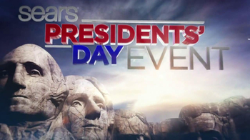 Sears Presidents Day Sale TV Spot - Thumbnail 1