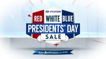 Hyundai Red, White & Blue Presidents' Day Sale TV Spot, 'Entire Lineup' - Thumbnail 1