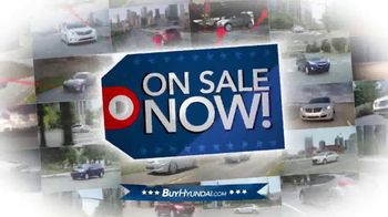 Hyundai Red, White & Blue Presidents' Day Sale TV Spot, 'Entire Lineup' - Thumbnail 2