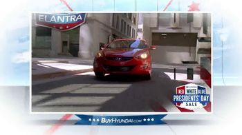 Hyundai Red, White & Blue Presidents' Day Sale TV Spot, 'Entire Lineup' - Thumbnail 3