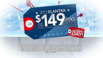 Hyundai Red, White & Blue Presidents' Day Sale TV Spot, 'Entire Lineup' - Thumbnail 4