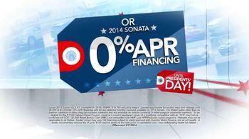 Hyundai Red, White & Blue Presidents' Day Sale TV Spot, 'Entire Lineup' - Thumbnail 5