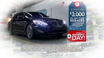 Hyundai Red, White & Blue Presidents' Day Sale TV Spot, 'Entire Lineup' - Thumbnail 7