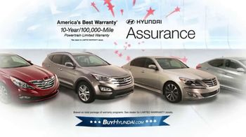 Hyundai Red, White & Blue Presidents' Day Sale TV Spot, 'Entire Lineup' - Thumbnail 8