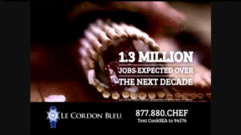 Le Cordon Bleu TV Spot, 'Real World Experience' - Thumbnail 6