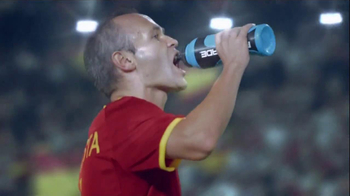 Powerade TV Spot, 'There's Power in Every Game' Featuring Andres Iniesta - 50 commercial airings
