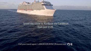 Princess Cruises TV Spot, 'Cruise to Alaska or the Caribbean' - Thumbnail 3