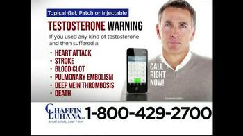 Chaffin Luhana TV Spot, 'Testosterone' - Thumbnail 5