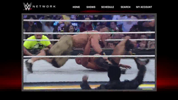 WWE Network TV Spot Featuring Hulk Hogan, John Cena - Thumbnail 3