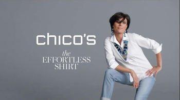 Chico's The Effortless Shirt TV Spot - Thumbnail 2