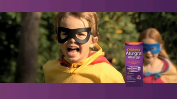 Children's Allegra Alergy TV Spot, 'Superhero' - Thumbnail 10