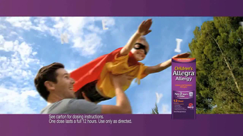 Children's Allegra Alergy TV Spot, 'Superhero' - Thumbnail 9