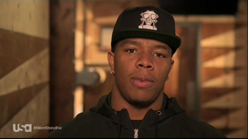 USA Network TV Spot, 'Characters Unite' Featuring Ray Rice - Thumbnail 2