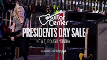 Guitar Center President's Day Sale TV Spot, 'Rock Out' - Thumbnail 10