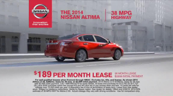Nissan TV Spot, '5 New Nissans' - Thumbnail 8