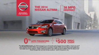 Nissan TV Spot, '5 New Nissans' - Thumbnail 9