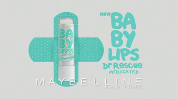 Maybelline New York Baby Lips Dr. Rescue TV Spot - Thumbnail 3