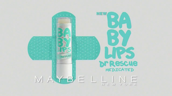 Maybelline New York Baby Lips Dr. Rescue TV Spot - Thumbnail 4