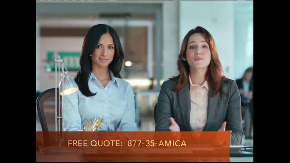 amica mutual insurance company tv commercial 39 expectations 39. Black Bedroom Furniture Sets. Home Design Ideas
