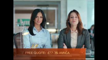 Amica Mutual Insurance Company TV Spot, 'Expectations' - 293 commercial airings