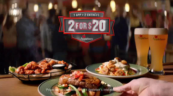 Applebee's 2 for $20 Menu TV Spot, 'Every Kind of Fan' - Thumbnail 10