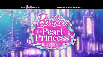 Barbie: The Pearl Princess Blu-ray and DVD TV Spot