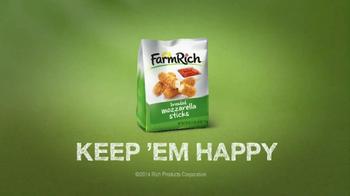 Farm Rich Breaded Mozzarella Sticks TV Spot, 'Say Cheese' - Thumbnail 10