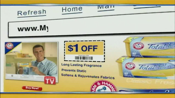 Arm and Hammer Total 2-in-1 Dryer Clothes TV Spot - Thumbnail 10
