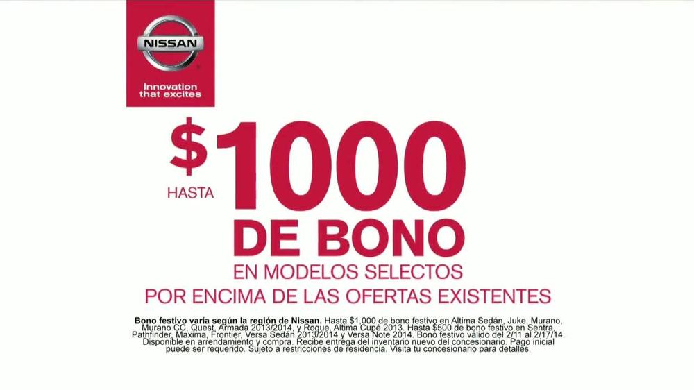 Nissan TV Commercial, 'Autos de 2014' Letra por Willy Moo ...