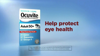 Ocuvite Adult50+ TV Spot, 'Nutrients' - Thumbnail 4